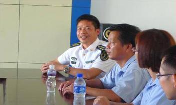 虎门威远海军基地学习交流活动