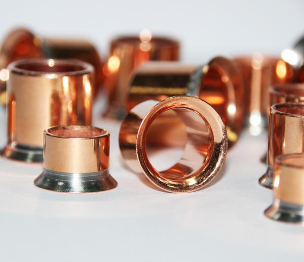 铁镀铜管件